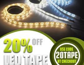 #23 for Design an LED Tape Banner for Email by Khandesigner2007