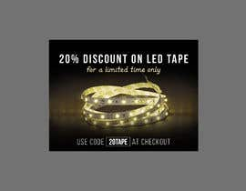#6 for Design an LED Tape Banner for Email by SmartBlackRose