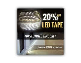 #13 for Design an LED Tape Banner for Email by pixelmanager