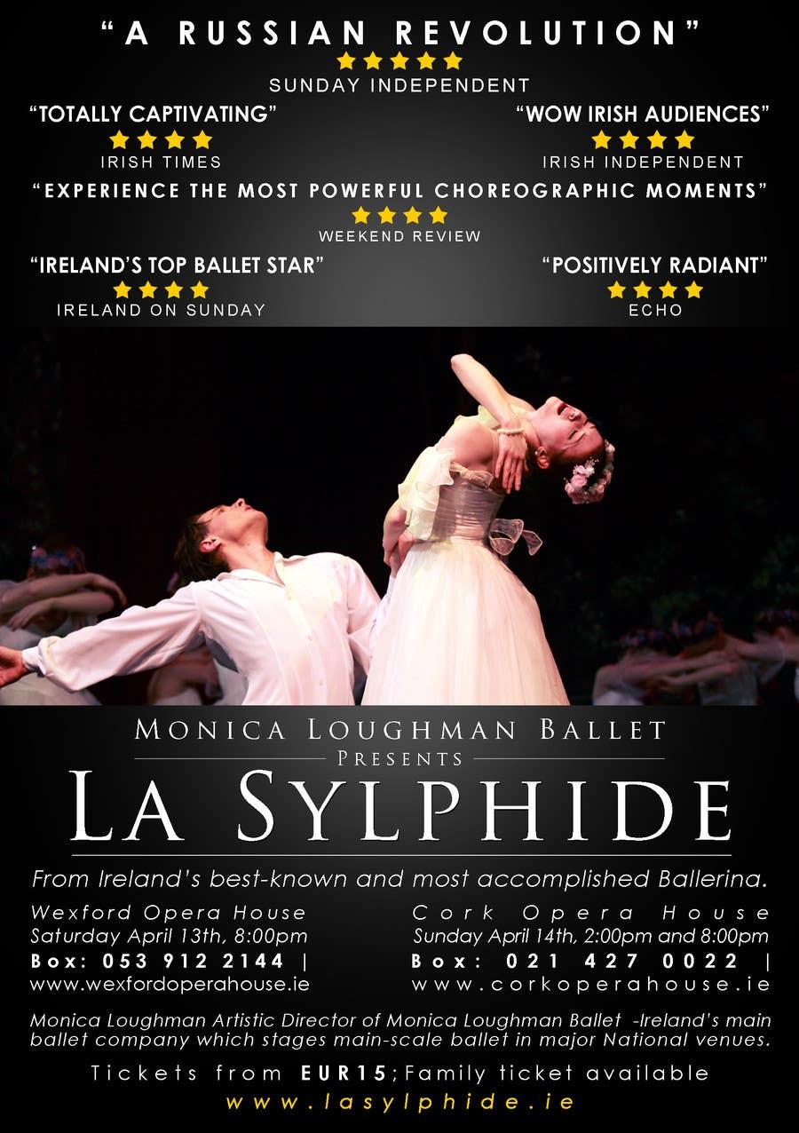 Конкурсная заявка №16 для Graphic Design for Ballet company for a ballet called La Sylphide