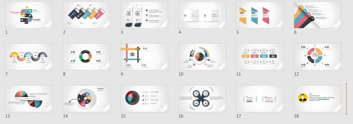 Contest Entry #19 for Re- Design a Powerpoint Presentation .. 28 Pages - content is given