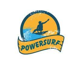 nº 12 pour PowerSurf, Power Surf, POWERSURF par BlackRainbow8