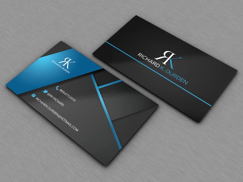 Design Professional Personal Business Cards Freelancer