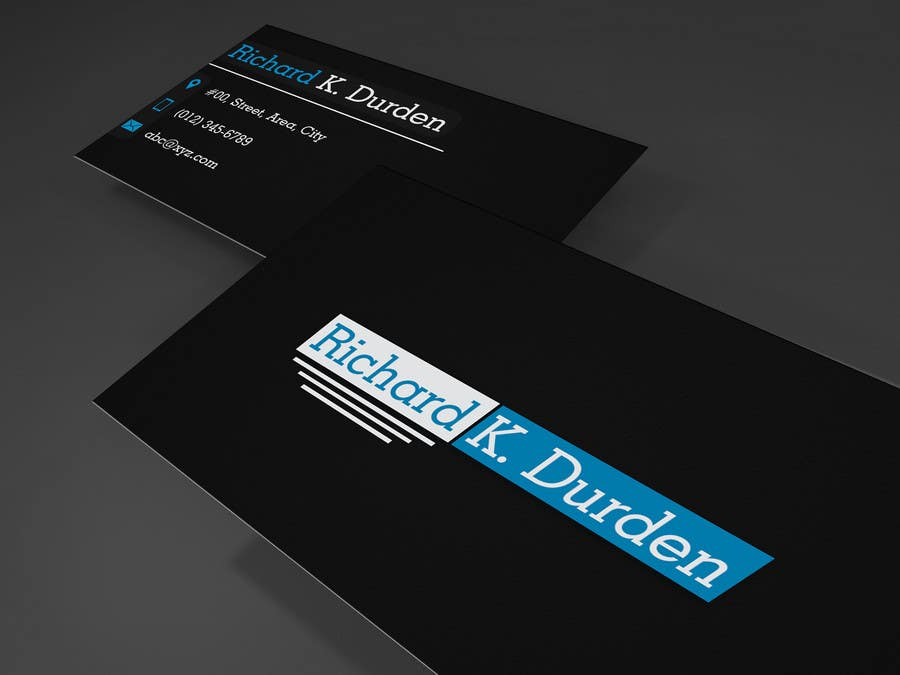 Entry #14 by wefx for Design Professional, Personal Business Cards ...