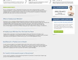 #96 pentru Website Design for Payday Loans Website de către MishAMan
