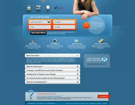 nº 8 pour Website Design for Payday Loans Website par ANALYSTEYE