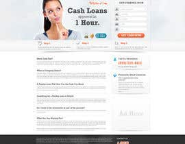 nº 79 pour Website Design for Payday Loans Website par neoarty