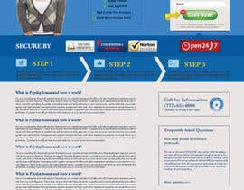#85 untuk Website Design for Payday Loans Website oleh innovawebtech