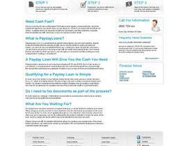 pratama05 tarafından Website Design for Payday Loans Website için no 54