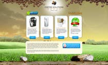 Proposition n° 25 du concours Graphic Design pour Website Design for Coffee Solutions Group