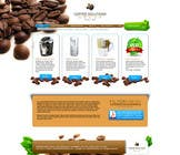 Proposition n° 74 du concours Graphic Design pour Website Design for Coffee Solutions Group