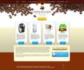 Proposition n° 18 du concours Graphic Design pour Website Design for Coffee Solutions Group