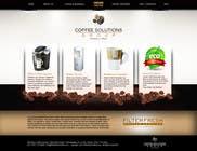 Proposition n° 73 du concours Graphic Design pour Website Design for Coffee Solutions Group