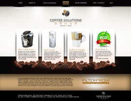 #73 para Website Design for Coffee Solutions Group por ANALYSTEYE