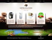 Proposition n° 51 du concours Graphic Design pour Website Design for Coffee Solutions Group