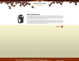 #72 pentru Website Design for Coffee Solutions Group de către ANALYSTEYE