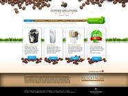 Proposition n° 75 du concours Graphic Design pour Website Design for Coffee Solutions Group