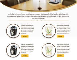 #78 para Website Design for Coffee Solutions Group por Simplesphere