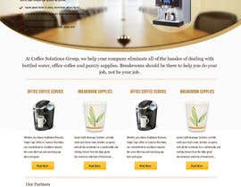 nº 79 pour Website Design for Coffee Solutions Group par Simplesphere