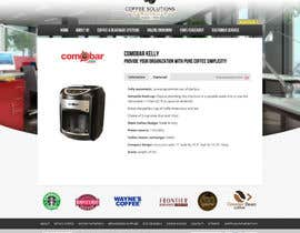 #59 pentru Website Design for Coffee Solutions Group de către tuanrobo