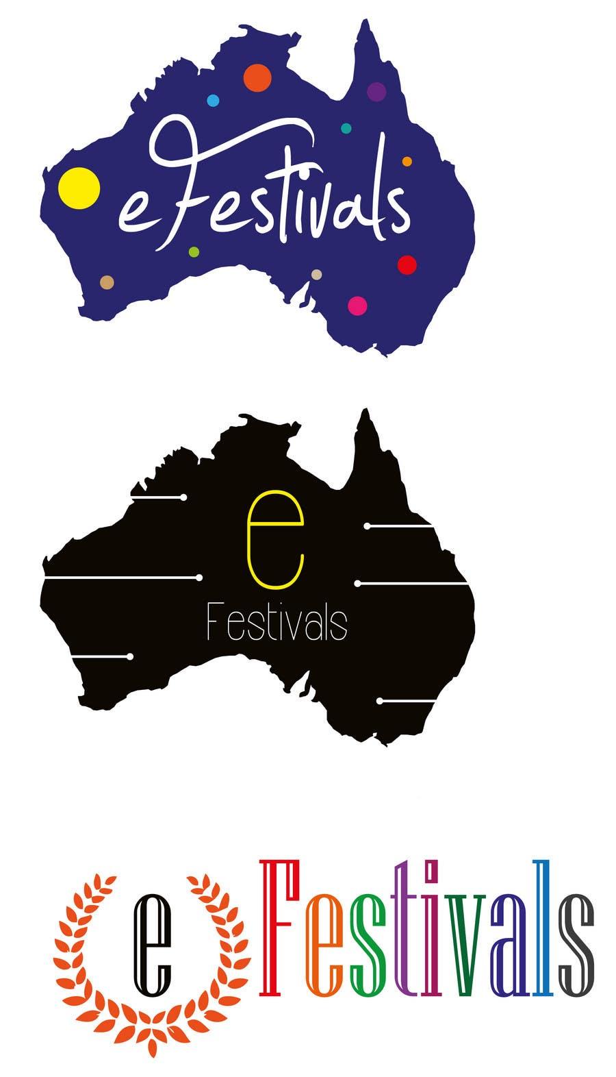 Inscrição nº 21 do Concurso para Logo Design for eFestivals