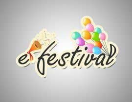 #383 para Logo Design for eFestivals por renigunta