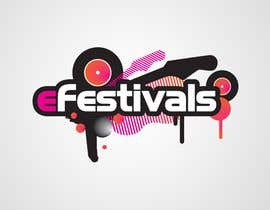 #409 za Logo Design for eFestivals od Bluem00n