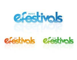 #393 para Logo Design for eFestivals por emperorcreative