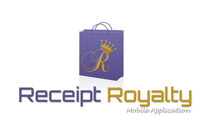 #172 for Logo Design for Receipt Royalty Mobile Application by facebooklikes007