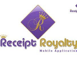 #187 pentru Logo Design for Receipt Royalty Mobile Application de către facebooklikes007