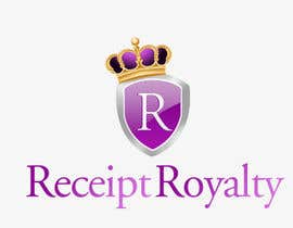 #109 pentru Logo Design for Receipt Royalty Mobile Application de către KreativeAgency