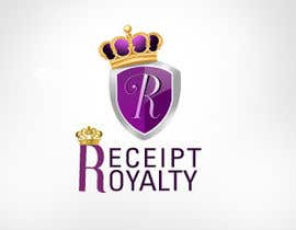 #170 pentru Logo Design for Receipt Royalty Mobile Application de către KreativeAgency