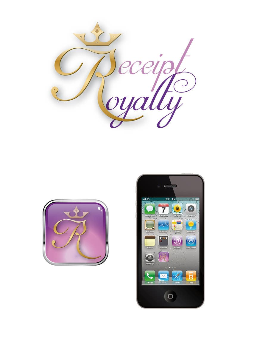 #177 for Logo Design for Receipt Royalty Mobile Application by Fran2811