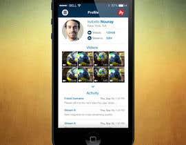 #2 for Mobile App Design - 1 page af OljaMandic