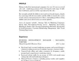 #11 for Re write Curriculum Vitae and cover letter by amitahlawat1