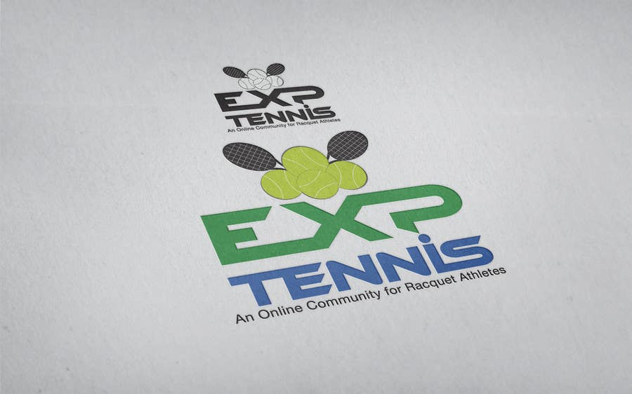 #56 for Logo Design for EXP Tennis by CIPRIAN1