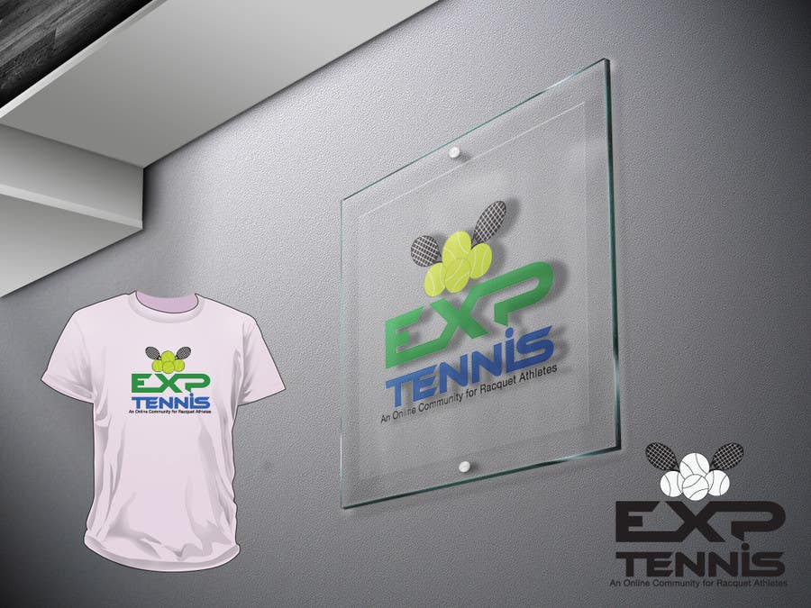 #55 for Logo Design for EXP Tennis by CIPRIAN1