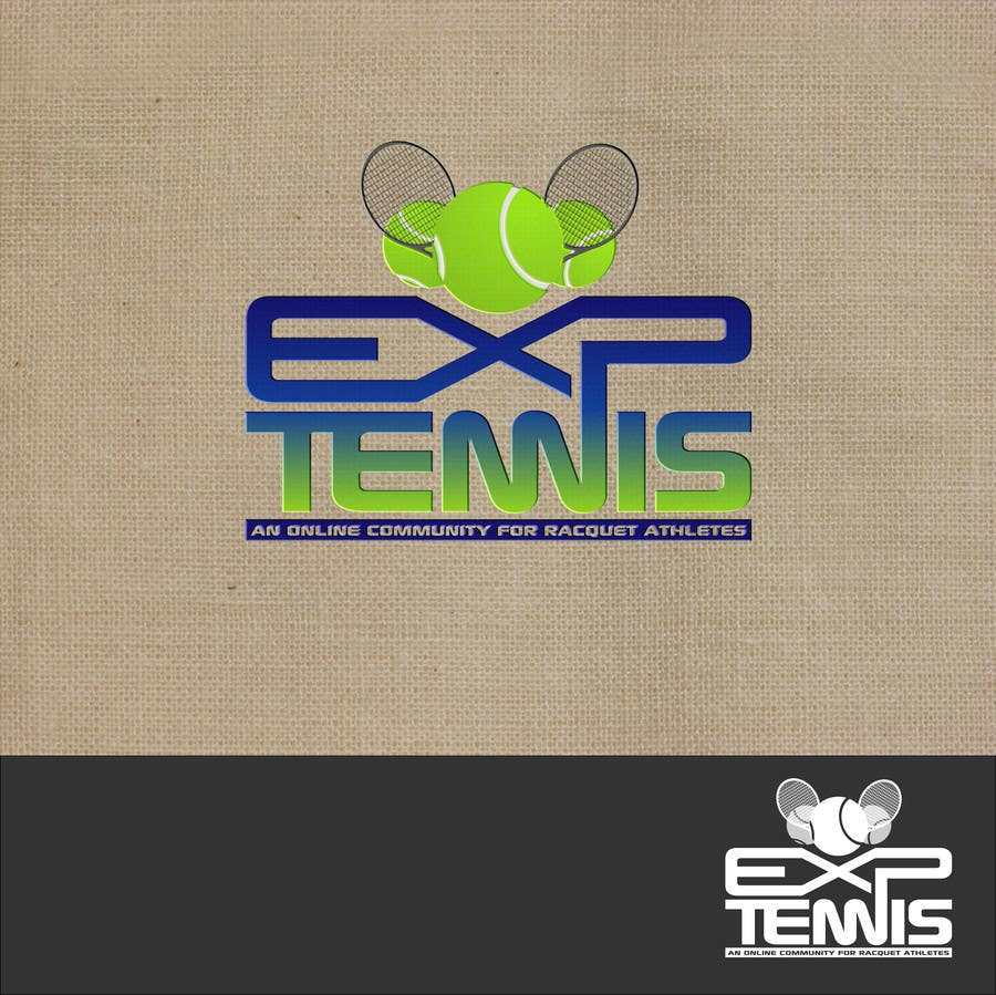 #58 for Logo Design for EXP Tennis by Kuczakowsky