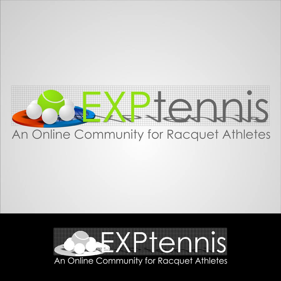 #12 for Logo Design for EXP Tennis by Kuczakowsky