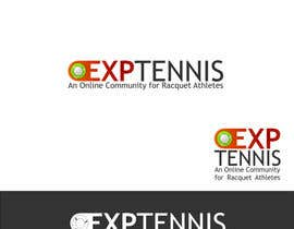 nº 13 pour Logo Design for EXP Tennis par Kuczakowsky