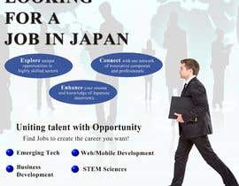 #4 untuk We need a poster design for a recruitment firm for foreign students in Universities in Japan (English) oleh adminenc
