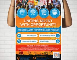#18 untuk We need a poster design for a recruitment firm for foreign students in Universities in Japan (English) oleh expertsolutionzz