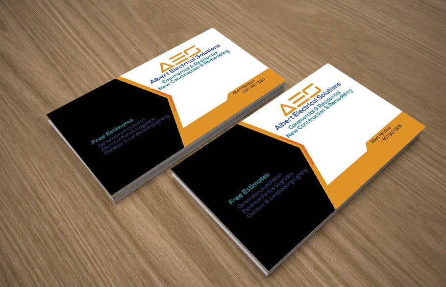 Entry 55 By Zahidul27 For Design A Simple One Sided Business Card