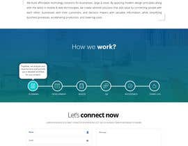 #54 cho Design and build 1 page static introduction website bởi MadniInfoway01