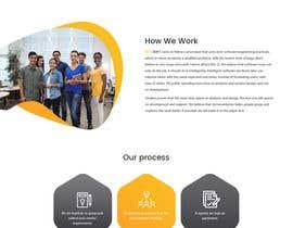 Nro 53 kilpailuun Design and build 1 page static introduction website käyttäjältä syrwebdevelopmen