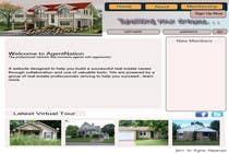 Bài tham dự #4 về Graphic Design cho cuộc thi ReDesign for AgentNation.com - Interactive, social, marketing site for Real Estate Pros!
