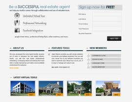 #8 para ReDesign for AgentNation.com - Interactive, social, marketing site for Real Estate Pros! por blackboxweb