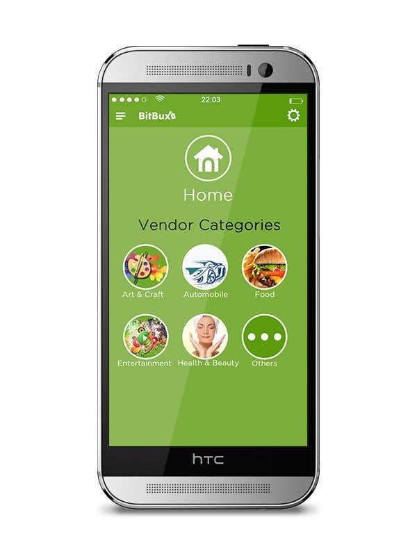 Entry #18 by kironkpi for Mobile App Homescreen Design | Freelancer