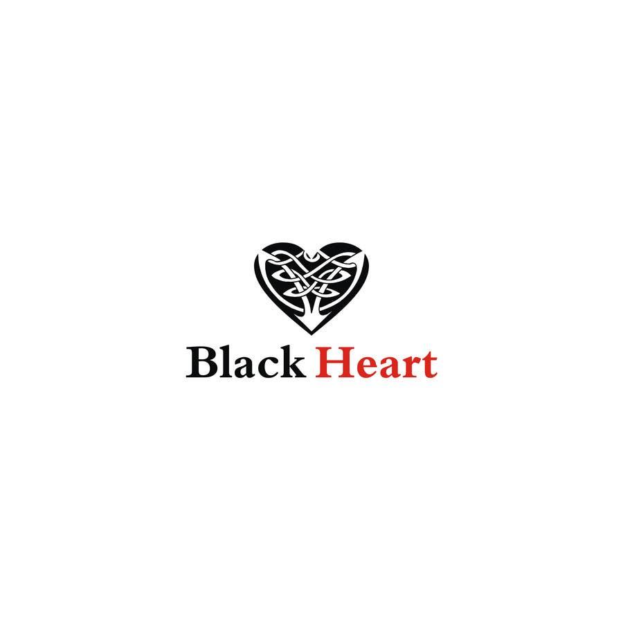 Konkurrenceindlæg #                                        134                                      for                                         Design a Logo for a Black Heart