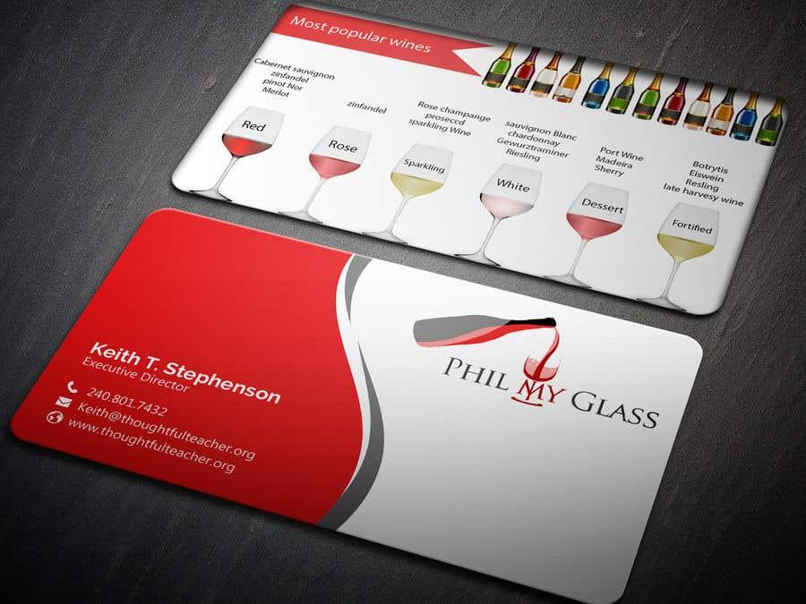 Entry 33 by dasshilatuni for wine business card back design contest entry 33 for wine business card back design colourmoves